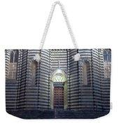 Cathedral Side Door Orvieto Italy Weekender Tote Bag