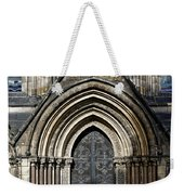 Cathedral Side Door Weekender Tote Bag