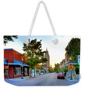 Cathedral Square Gallery On Dauphin Street Mobile Weekender Tote Bag