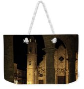 Cathedral Square Havana Cuba Weekender Tote Bag