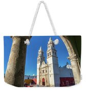 Cathedral Viewed From Balcony Weekender Tote Bag