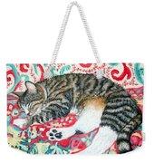 Catnap Time Weekender Tote Bag