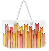 Cats Autumn Colors Weekender Tote Bag