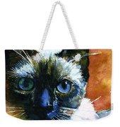 Cats Eyes 13 Weekender Tote Bag