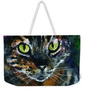 Cats Eyes 16 Weekender Tote Bag