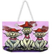 Cats In Red Hats Weekender Tote Bag