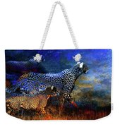 Cats On The Prowl Weekender Tote Bag