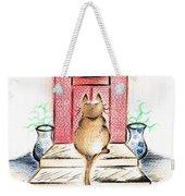 Cat's Welcome Motel Weekender Tote Bag