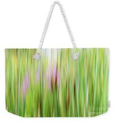 Cattails And Flowers Weekender Tote Bag