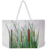 Cattails 3 Weekender Tote Bag