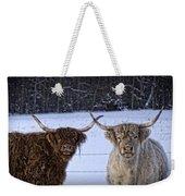 Cattle Cousins Weekender Tote Bag