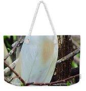 Rainbow Bill Cattle Egret Weekender Tote Bag