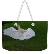 Cattle Egret Prepared For Landing - Digitalart Weekender Tote Bag