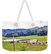 Cattle Farm Weekender Tote Bag
