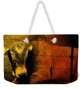 Cattle In Sunny Texas Weekender Tote Bag