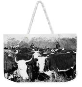 Cattle: Longhorns Weekender Tote Bag