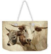 Cattle Steers Weekender Tote Bag