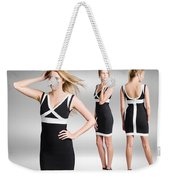 Catwalk And Runway Model At Fashion Week Weekender Tote Bag