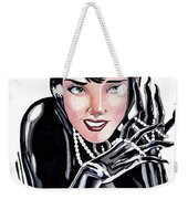 Catwoman- Markers Weekender Tote Bag