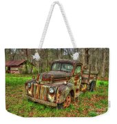 Caught Behind 1947 Ford Stakebed Pickup Truck Art Weekender Tote Bag