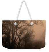 Caught Between Light And Dark Weekender Tote Bag
