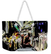 Caught In Rain Weekender Tote Bag