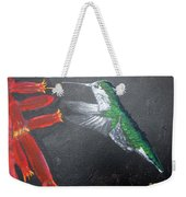 Caught In The Flash Weekender Tote Bag