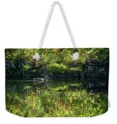 Caught In The Reflection Weekender Tote Bag