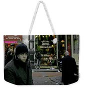 Caught Up Weekender Tote Bag