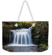 Cauldron Falls,west Burton, North Yorkshire. Weekender Tote Bag