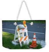 Caution, Road Work Weekender Tote Bag