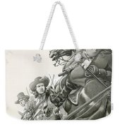 Cavalry Charge Weekender Tote Bag