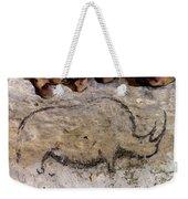 Cave Art: Rhinoceros Weekender Tote Bag