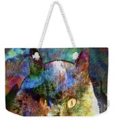 Cave Cat Weekender Tote Bag