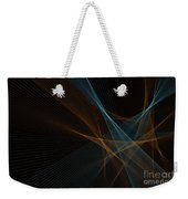 Cave Computer Graphic Line Pattern Weekender Tote Bag