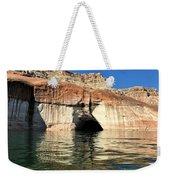 Cave Opening At Lake Powell Weekender Tote Bag
