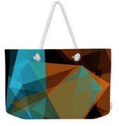 Cave Polygon Pattern Weekender Tote Bag