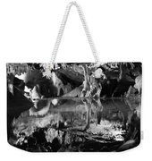 Cave Reflection 2 Weekender Tote Bag