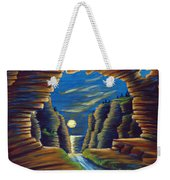 Cave With Cliffs Weekender Tote Bag