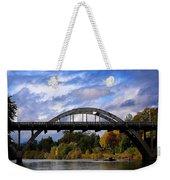 Caveman Bridge Weekender Tote Bag