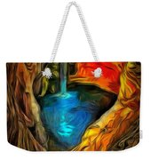 Cavernous Pool In Ambiance Weekender Tote Bag