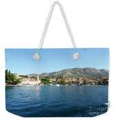 Cavtat, Croatia Weekender Tote Bag