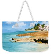 Cayman Shoreline Weekender Tote Bag