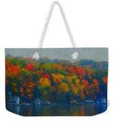 Cayuga Autumn Weekender Tote Bag