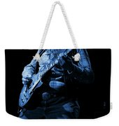 Cdb Winterland 12-13-75 #51 Enhanced In Blue Weekender Tote Bag