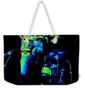 Cdb Winterland 12-13-75 #7 Enhanced In Cosmicolors Weekender Tote Bag