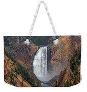 Lower Yellowstone Falls Weekender Tote Bag