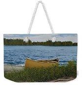Cedar Canoe Weekender Tote Bag