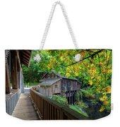 Cedar Creek Grist Mill Weekender Tote Bag