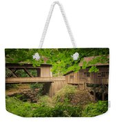Cedar Creek Mill And Covered Bridge Weekender Tote Bag